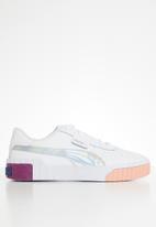 PUMA - Cali bubble jr sneakers -  white
