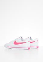 Nike - Nike court legacy - white & hyper pink