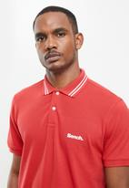 Bench - Gruff polo - red