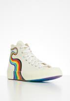 Converse - Chuck 70 pride hi - egret/multi/white