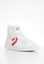 Converse - Pro leather parquet court hi - white/university red/white
