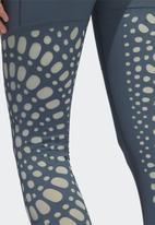 adidas Performance - Bt power 7/8 long tights - legacy blue/grey