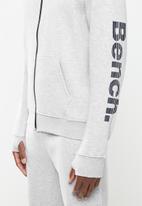 Bench - Maslow zip fleece - grey