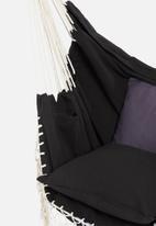 Calasca - Fine living milos hammock chair - black