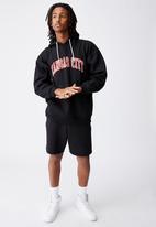 Factorie - Elite oversized hoodie - black
