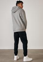 Factorie - Elite oversized hoodie - mid grey marle