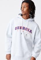 Factorie - Elite oversized hoodie - silver marle