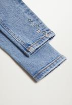 MANGO - Jules jeans - blue