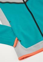 Nike - B nsw tch flc fz - grey & blue