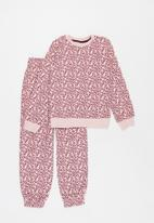 POP CANDY - Younger girls sweat top & joggers set - pink