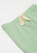 Cotton On - Francine flare pant - smashed avo rib