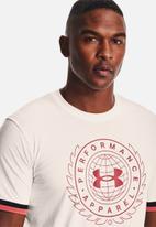 Under Armour - Ua crest short sleeve  - white