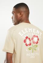 Element - Simple truth short sleeve tee - brown