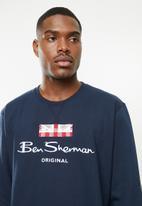 Ben Sherman - Original sweat top - navy