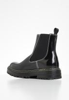 Missguided - Sole stitching chelsea boot - black