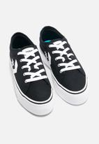 Converse - star replay platform all of the stars ox - black/white