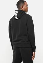 Bench - Marx zip fleece - black