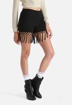 Glamorous - Fringe Shorts