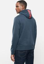 Bench - Marx zip fleece - navy