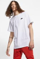 Nike - Nsw club short sleeve tee - white