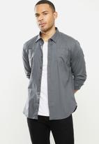 Aca Joe - Aca joe long sleeve shirts - grey