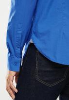Aca Joe - Aca joe long sleeve shirts - blue