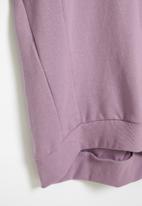 Superbalist - Raglan sweater dress - lilac