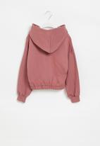 Superbalist - Girls crop hoodie - pink