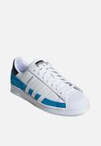 adidas Originals - Superstar - bright blue/ftwr white/core black