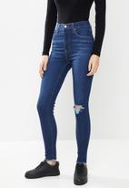 Levi's® - Mile high super skinny toronto dusk - blue