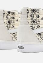 Vans - UA sk8-hi - (bandana) classic white & black