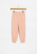 Superbalist Kids - Younger girls fleece sweatpants - pink