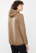 STYLE REPUBLIC - Quilted puffer - champagne