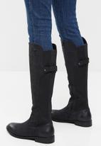 Miss Black - Rainer 6 riding boot - black