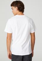 Cotton On - Tbar art t-shirt - white