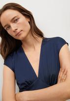 MANGO - Dress juliet - dark blue