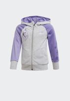 adidas Originals - Hooded track top - grey & purple