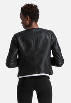 Vero Moda - Botanic Short PU Jacket