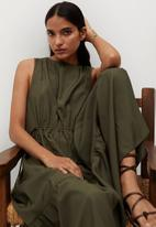MANGO - Dress abril  - green