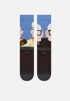Stance Socks - Wilderness explorer socks - blue