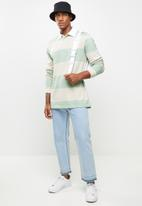 Cotton On - Rugby long sleeve polo - multi