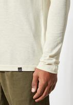 Superbalist - Nate recycled long sleeve crew neck tee - stone