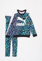 PUMA - Classics safari t7 aop leggings - multi