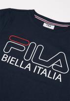 FILA - Biella short sleeve tee - navy