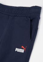 PUMA - Ess logo pants - navy
