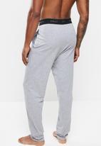 Superbalist - Knit slim lounge pant - grey