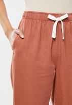 Cotton On - Everyday pants - earthy red