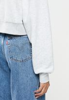 Cotton On - Graphic classic cropped crew - grey