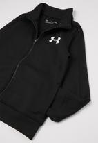 Under Armour - UA boys knit tracksuit - black & white