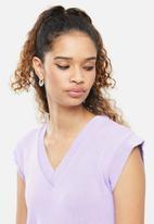 Blake - Sleeveless vest - purple